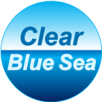 Clear Blue Sea square logo
